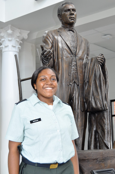 Jessica Morgan of The Calhoun School and Fort Deposit is a Gates Millennium Scholar. Morgan was one of only 1,000 of 54,000 applicants selected for a Gates Millennium Scholars Program scholarship.