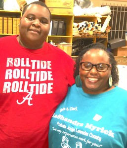Terrell Means and LaShandra Lyric, Lowndes County Coroner Elect and Probate Judge Elect.
