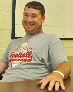 Lowndes Academy head football  and baseball coach Shane Moye