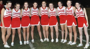 Rebel Cheerleaders ready for 2018.